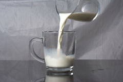 A glass of milk Royalty Free Stock Photo