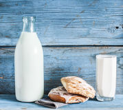 Glass of milk Stock Photography
