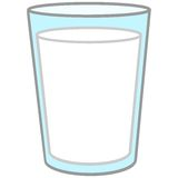 Glass of Milk. A vector illustration of a glass of Milk Stock Images