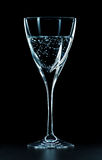 Glass of Mineral Water Royalty Free Stock Photography