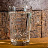 Glass of mineral water Royalty Free Stock Photo
