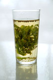 Glass of mint tea Royalty Free Stock Photography
