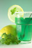 Glass of mint Stock Images
