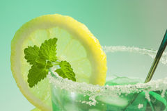 Glass of mint Royalty Free Stock Photography