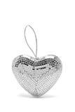 Glass Mirror Heart Ornament Royalty Free Stock Photo