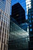 glass modern kontorsreflexion för byggnad Royaltyfri Fotografi