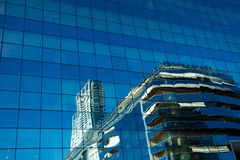 Glass modern office building Royalty Free Stock Photography