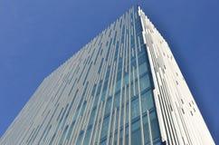 glass modern sky för byggnad Fotografering för Bildbyråer