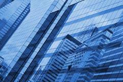 Glass of modern tower Stock Photos