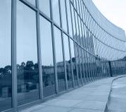 glass moderna silhouettes Royaltyfri Bild