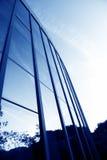 glass moderna silhouettes Arkivfoto
