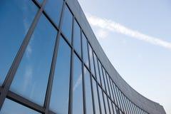 glass moderna silhouettes Arkivbild