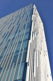 glass moderna skies för byggnad Royaltyfri Fotografi