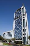 glass modernt fönster för byggnad Royaltyfri Bild