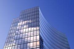 glass modernt kontor för byggnad Fotografering för Bildbyråer