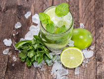 Glass with Mojito Royalty Free Stock Image