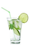 Glass of  mojito isolated Stock Image