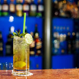 Glass of mojito Stock Images