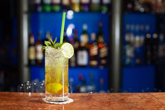 Glass of mojito Royalty Free Stock Photo