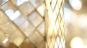 Glass mosaic abstract reflection Royalty Free Stock Photo