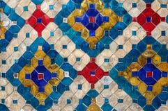 Glass Mosaic background Royalty Free Stock Photos