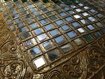 Glass mosaic background Royalty Free Stock Photography