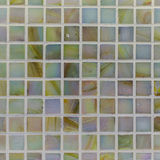 Glass mosaic in the bathroom. As background Stock Image