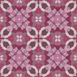 Glass mosaic kaleidoscopic seamless generated hires texture Stock Image