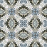 Glass mosaic kaleidoscopic seamless generated hires texture Stock Photography