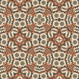 Glass mosaic kaleidoscopic seamless generated hires texture Royalty Free Stock Image