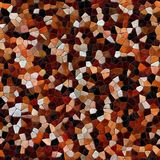 Glass mosaic kaleidoscopic seamless generated hires texture. Or background Stock Images