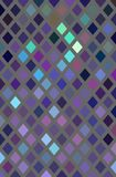 Glass mosaic lilac blue pattern, Decorative colored crystals background. royalty free illustration