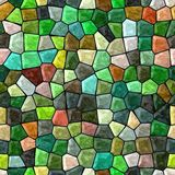 Glass mosaic seamless generated hires texture Royalty Free Stock Photography