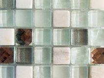 Glass mosaic tile Stock Images