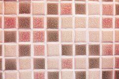 Glass mosaic tiles in the bathroom Stock Image