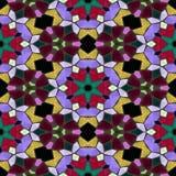 Glass mosaik Royaltyfria Bilder