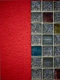 glass mosaikredvägg Fotografering för Bildbyråer