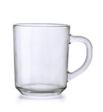Glass mug Royalty Free Stock Photo