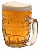 Glass, a mug of beer, beer Royalty Free Stock Photos