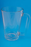 Glass mug. Royalty Free Stock Photography