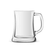 Glass mug Royalty Free Stock Images