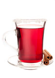 Glass of mulled wine Stock Photos