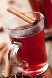 Glass of mulled wine Royalty Free Stock Photos