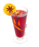 Glass of mulled wine Stock Photo