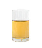 Glass of natural apple juice royalty free stock photography