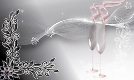 GLASS NIGHT Stock Image