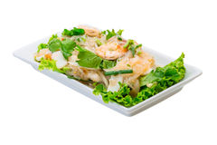 Glass noodle with shrimps Stock Image