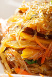 Glass noodles appetizer closeup Stock Photography