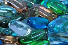 Glass nuggets Stock Images