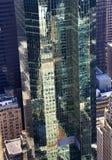 glass nya reflexioner york för byggnadsstad Arkivfoto